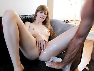 Sexy daughter Dolly gets a hard fuck punishment from her daddy
