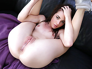 Beautiful step sister Emma gets boned by step brothers big cock