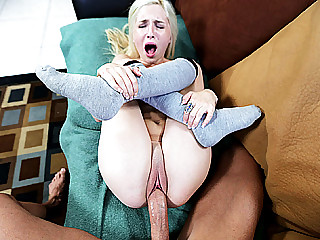 Cutie Piper Perri has her vagina destroyed by colossal hard cock